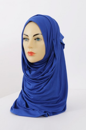 Hijeb maxi stretch bleu electrique pas cher & discount