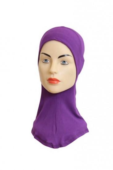 Sous hijab cagoule Violine pas cher & discount