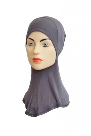Sous hijab cagoule Gris pas cher & discount