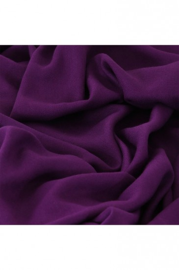 Hijab Pashmina Royal violet pas cher & discount
