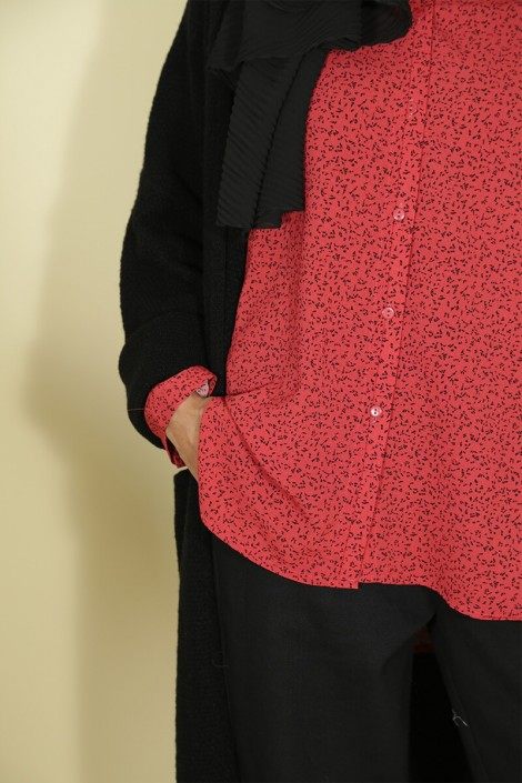Chemise Solenne Rouge