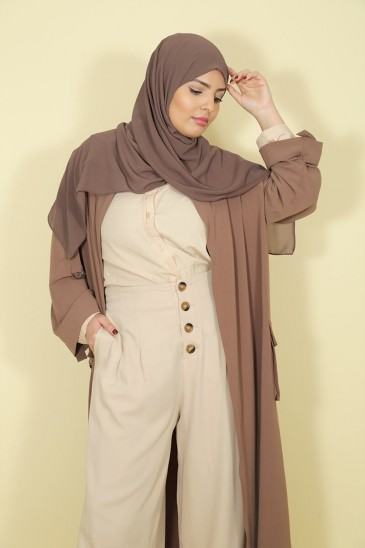 Chemise Anissa Beige pas cher & discount