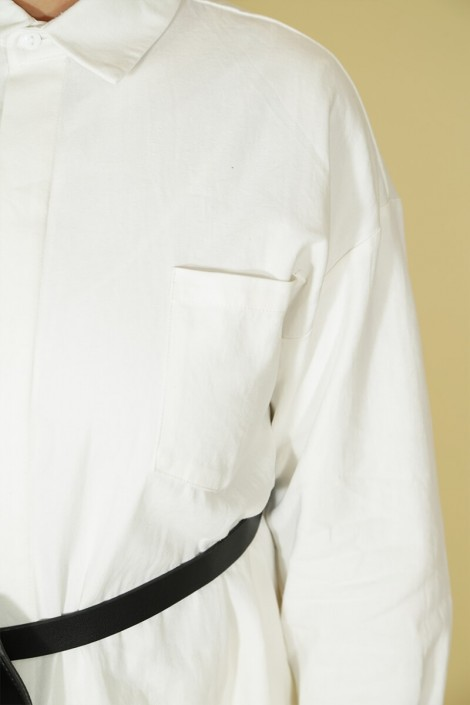 Tunique Ghyslene Blanc