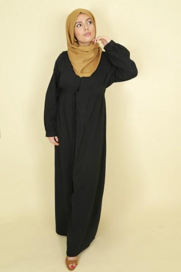 Abaya Robe Jouda Noir pas cher & discount