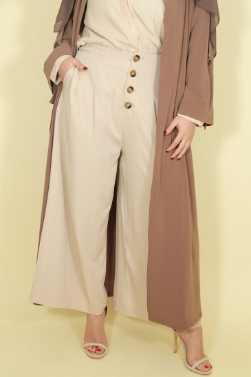 Palazzo Laysa Beige pas cher & discount
