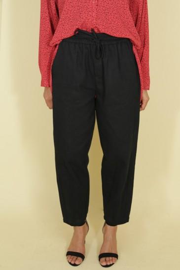 Pantalon Nurhan Noir pas cher & discount