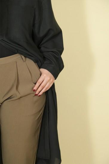 Pantalon Rondha Vert Olive pas cher & discount
