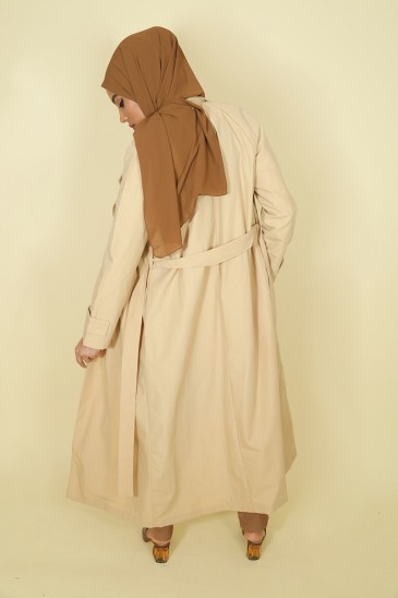 Trench Thamara Beige pas cher & discount