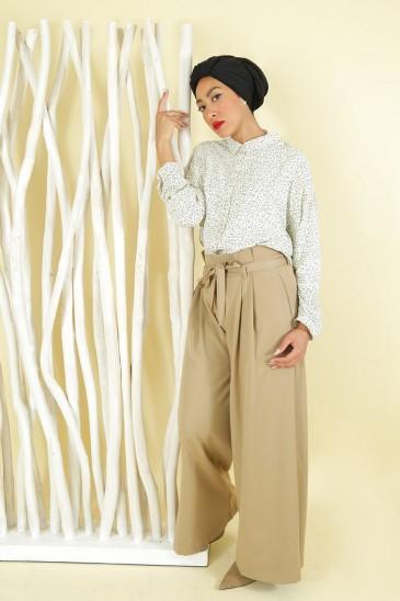 Pantalon Amael Taupe pas cher & discount