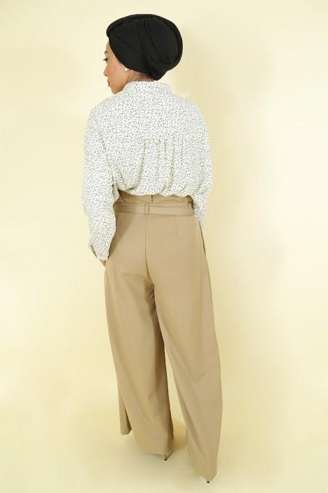 Pantalon Amael Taupe