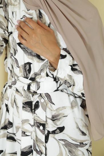 Robe Joanne Blanc pas cher & discount