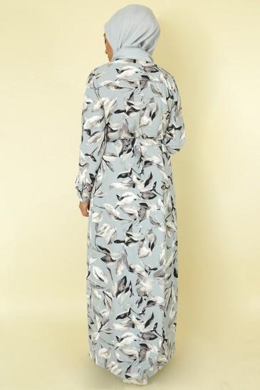 Robe Joanne Vert Sauge pas cher & discount