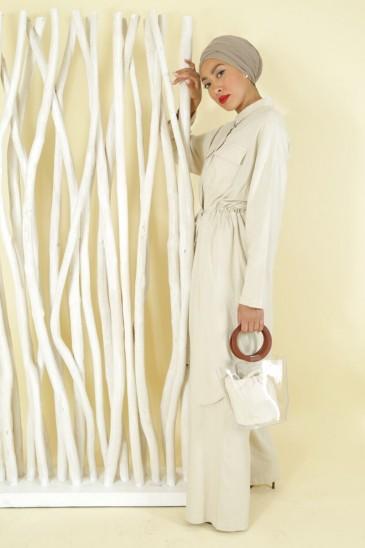 Pantalon Sanaa Beige pas cher & discount