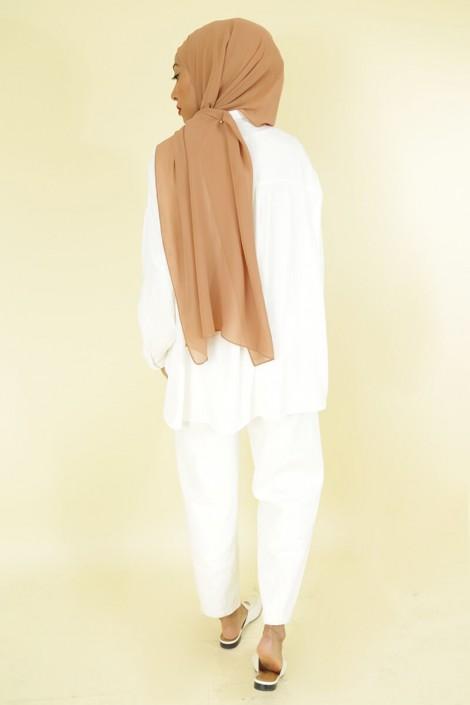 Pantalon Nurhan Blanc