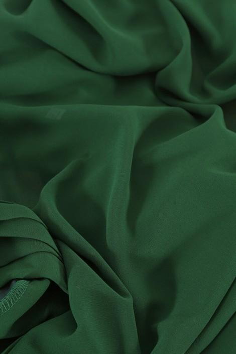 Hijab easy style prêt à enfiler - Vert sapin