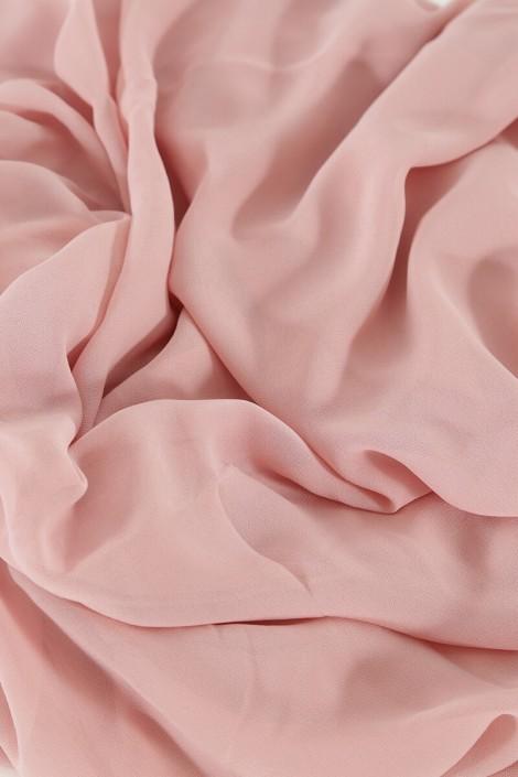 Hijab easy style prêt à enfiler - Vieux rose