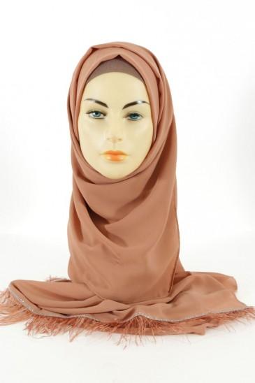 Hijab Aya- Acajou pas cher & discount