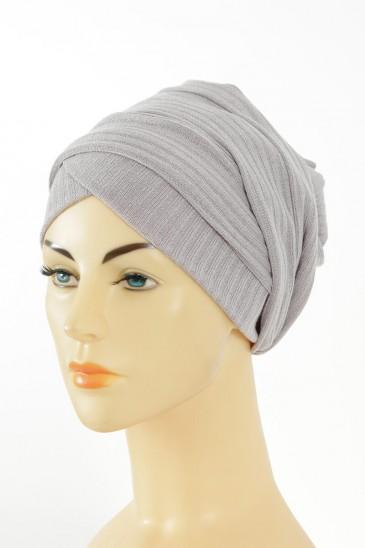 Turban Monika-gris pas cher & discount