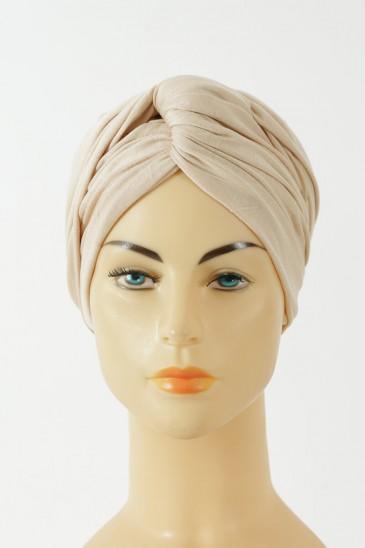 Turban alexia - crème pas cher & discount