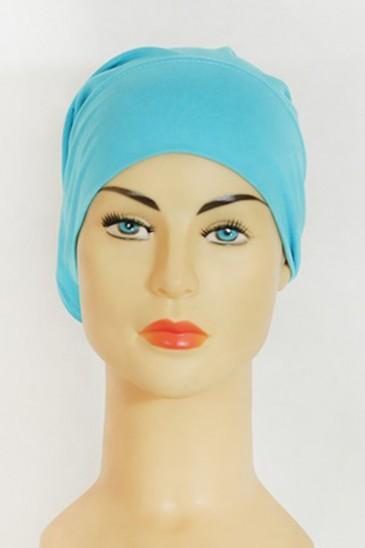"""Bonnet tube """"les tons Bleu"""" pas cher & discount"""