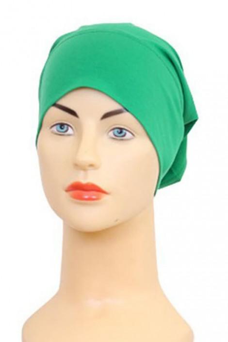 "Bonnet tube ""les tons Vert"""