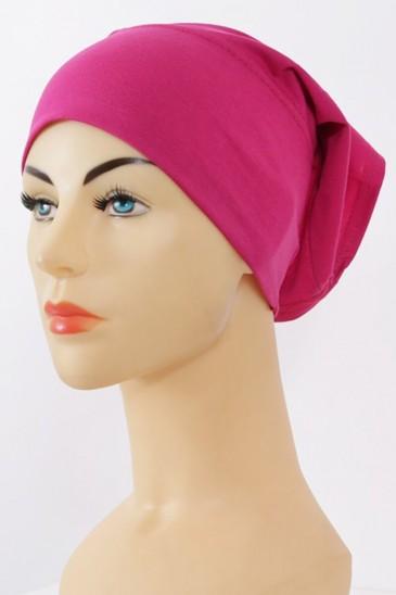 Bonnet tube magenta fushia pas cher & discount