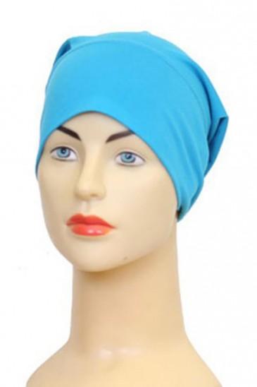 Bonnet tube turquoise pas cher & discount