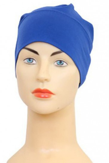 Bonnet tube bleu roi pas cher & discount