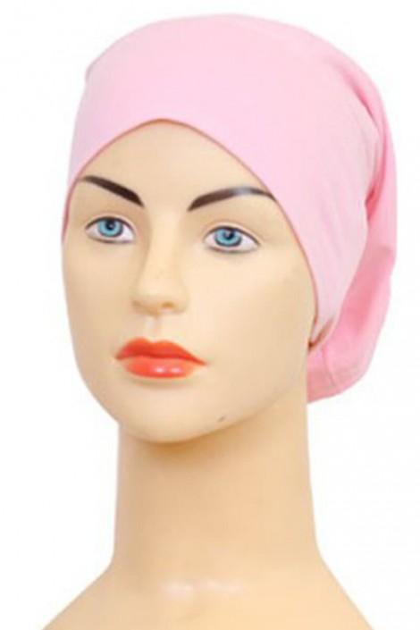 Bonnet tube rose dragée