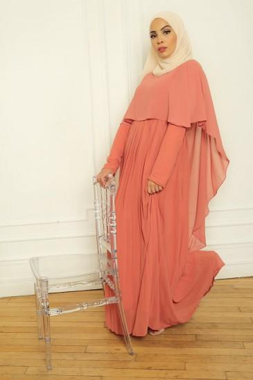 Abaya Robe Amarine Blush pas cher & discount