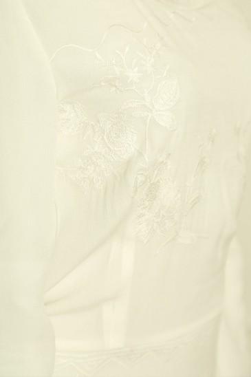 Robe Candice blanc cassé pas cher & discount