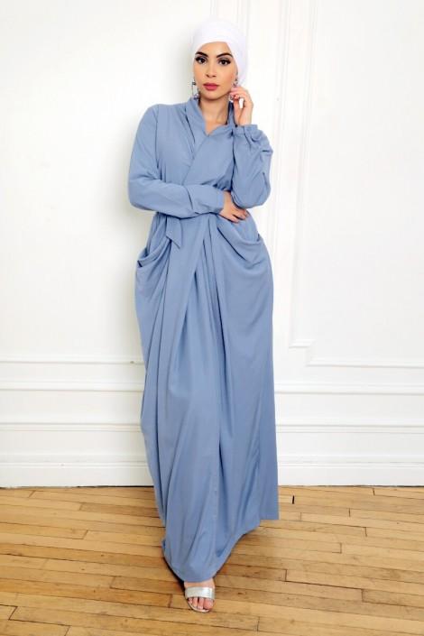 Robe Alya Bleu