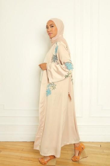 Kimono Manel nude pas cher & discount