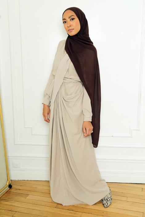 Robe Alya Taupe