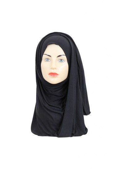Hijeb maxi stretch noir pas cher & discount