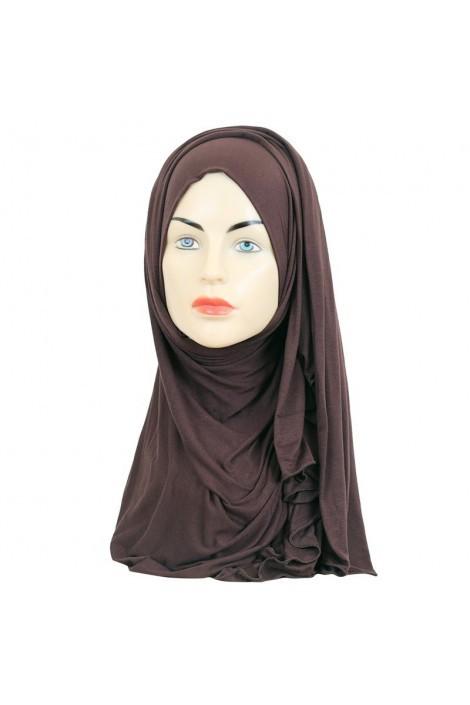 hijeb maxi stretch marron