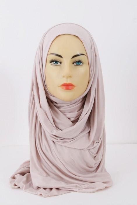 hijeb maxi stretch nude