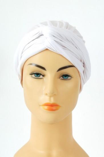 Turban alexia - blanc pas cher & discount