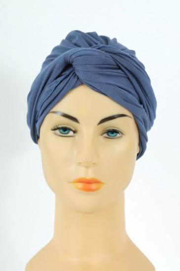 Turban alexia - bleu guede pas cher & discount