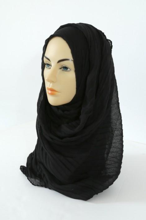 Hijab Tourbillon - noir