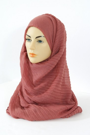 Hijab Tourbillon - Rouille pas cher & discount