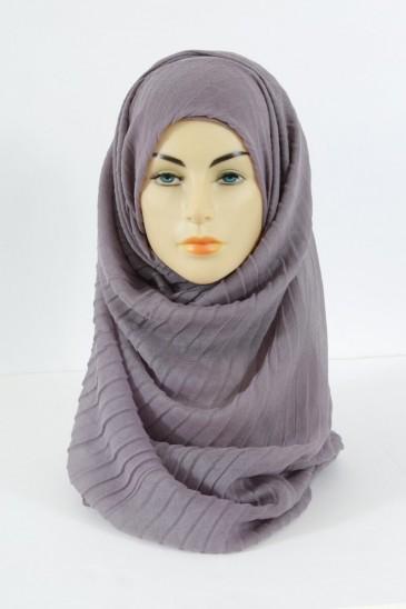 Hijab Tourbillon - Mauve pas cher & discount