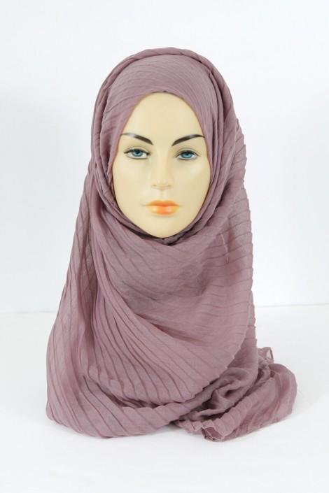 Hijab Tourbillon - parme