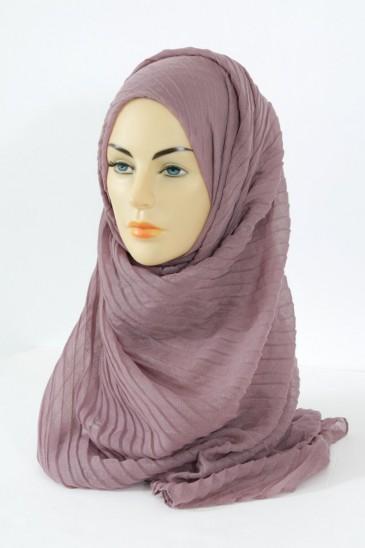 Hijab Tourbillon - parme pas cher & discount