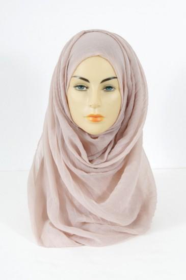Hijab Tourbillon - Nude pas cher & discount