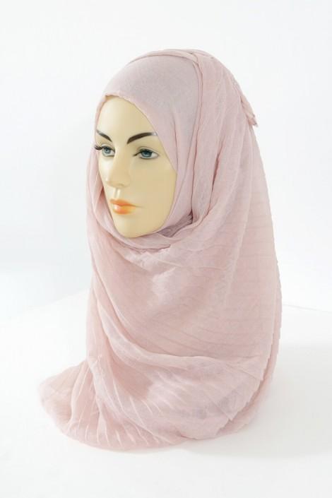 Hijab Tourbillon - Rose pale