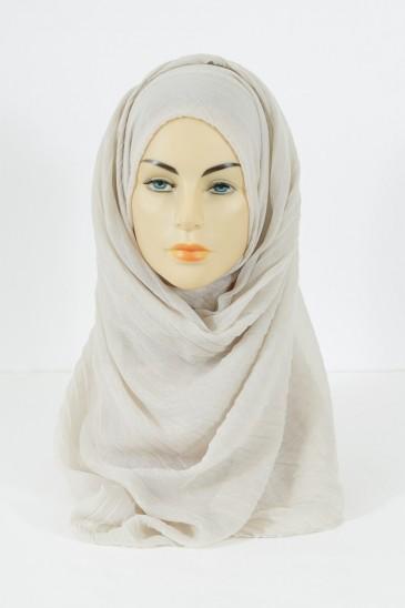 Hijab Tourbillon - Ivoire pas cher & discount