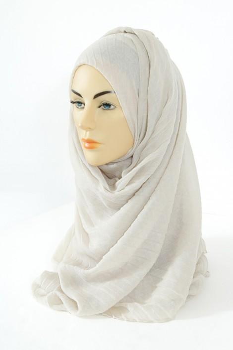 Hijab Tourbillon - Ivoire