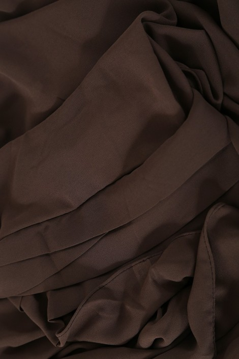 Hijab easy style- Marron