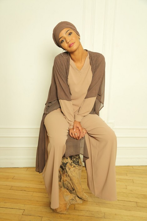 Pantalon Ophelia Camel